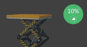 гидравлический ножничный подъемный стол